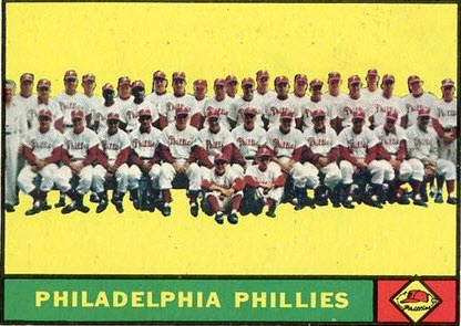 1961 Phillies Click Image to see on eBay