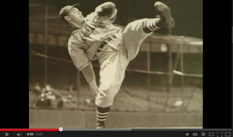 Bob Feller, 17 years old - MLB debut 17 strikeouts