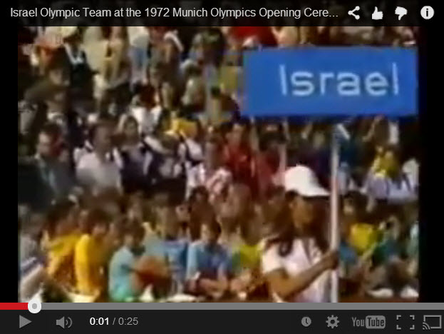 Opening Ceremonies 1972 Munich Olympics 10 members of Israeli Team would soon be massacred