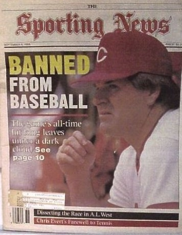 Pete Rose Banned Click Image to See on eBay
