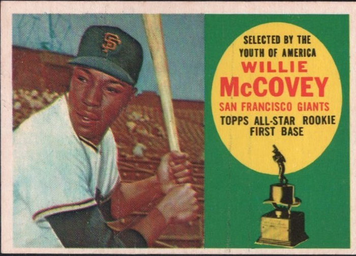Willie McCovey Rookie Card  click here to see in eBay