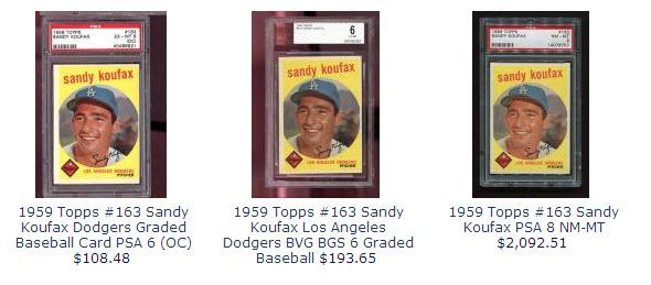 Sandy Koufax 1959