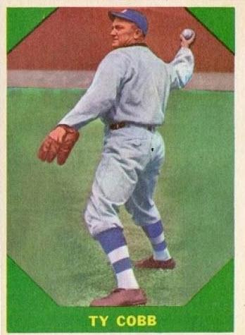 1960 Fleer #42 Ty Cobb