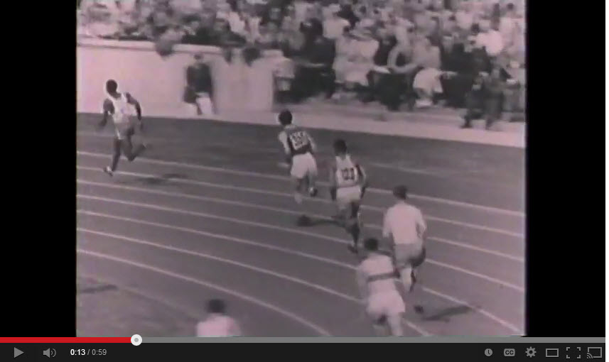 esse Owens wins fourth gold at 1936 Olympics in Berlin Click here