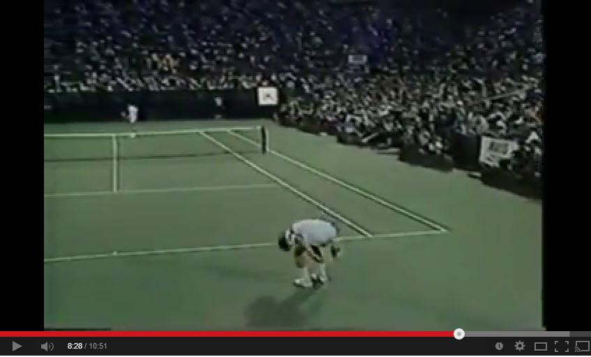 John McEnroe Defeats Bjorn Borg U.S. Open 1980